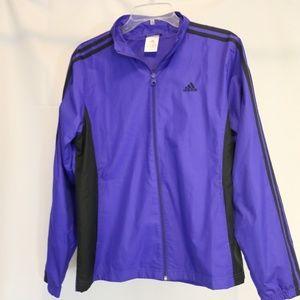 Adidas Men's L Jacket Full Zip Windbreaker